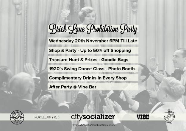 Prohibition Party invitation
